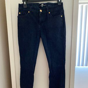 7 For All Mankind Skinny Jeans, Size 26